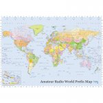 Amateur Radio World Prefix Map (gro�)