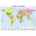 CQ-WW-DX World Map