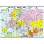 Radio Amateur Map of Europe