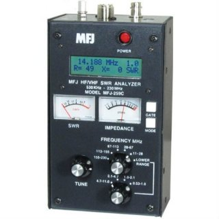 MFJ-259C Antennen-Analyzer bis 170 MHz