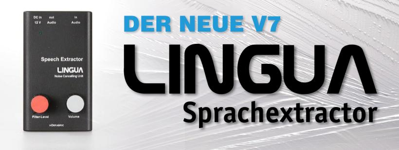 LINGUA Sprachextractor V7